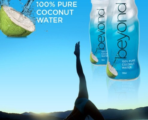 BEYOND Coconut Water Ad