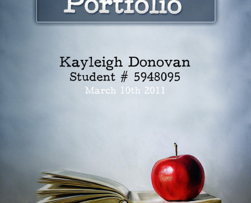 Teacher's Portfolio Cover
